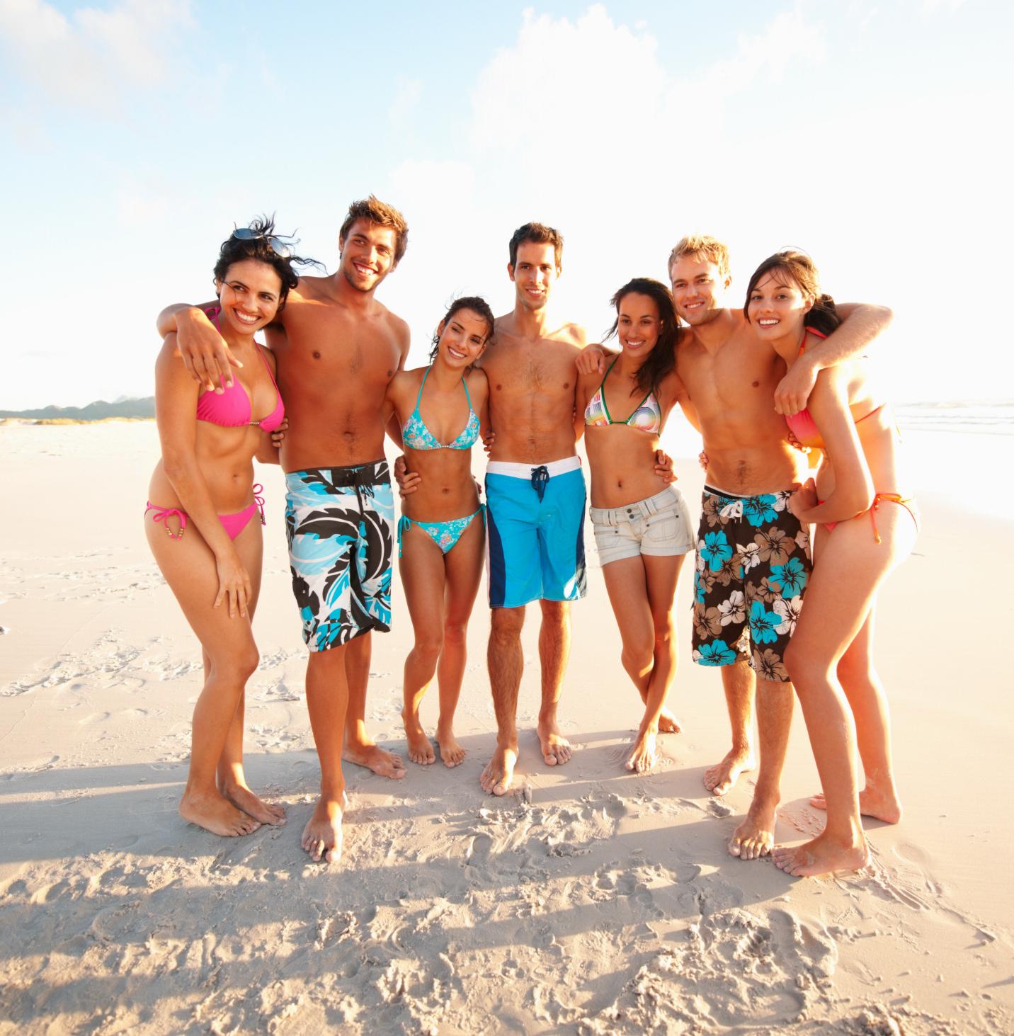 Venner på stranden - Tyrkiet