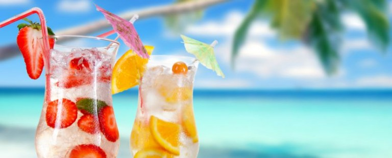 Sommerdrink - All inclusive hotell