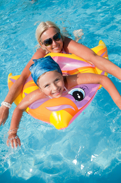 Skønt med pool i den varme - Tyrkiet