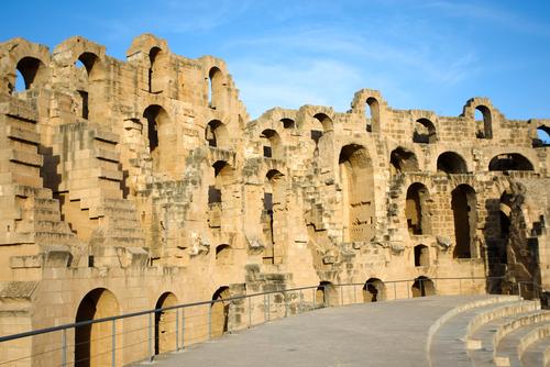 Historiske bygg i Tunisia