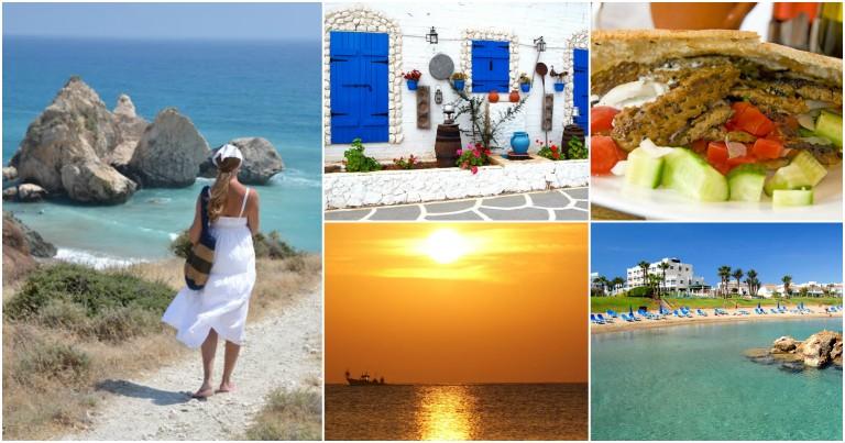 Kypros er Middelhavets mest solsikre øy