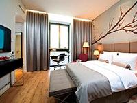 Ett av solfaktors hotell i Berlin