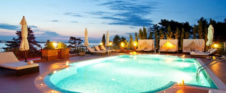 Pool i Agadir, luksushotel
