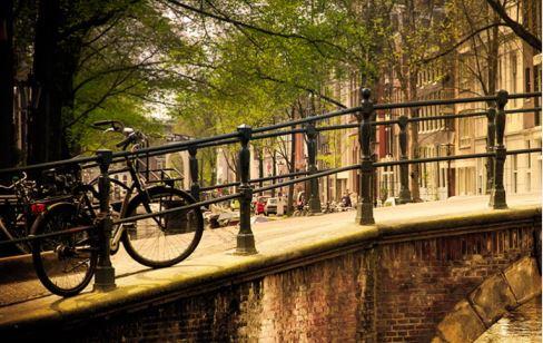 amsterdam-sykkelogbro