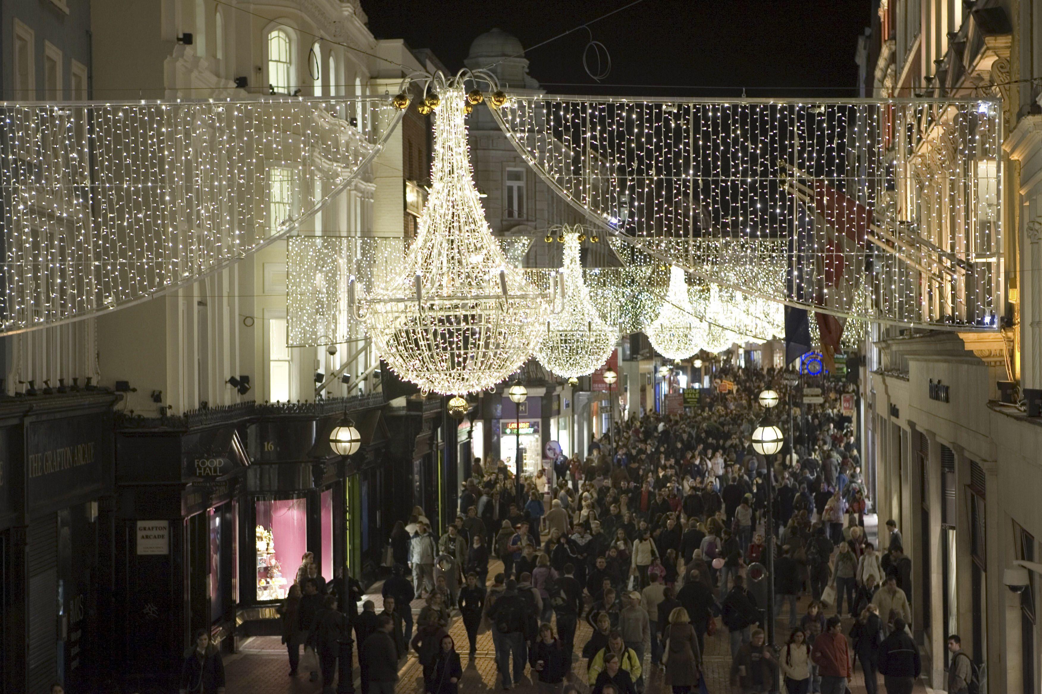 Herlig julegate - Grafton Street