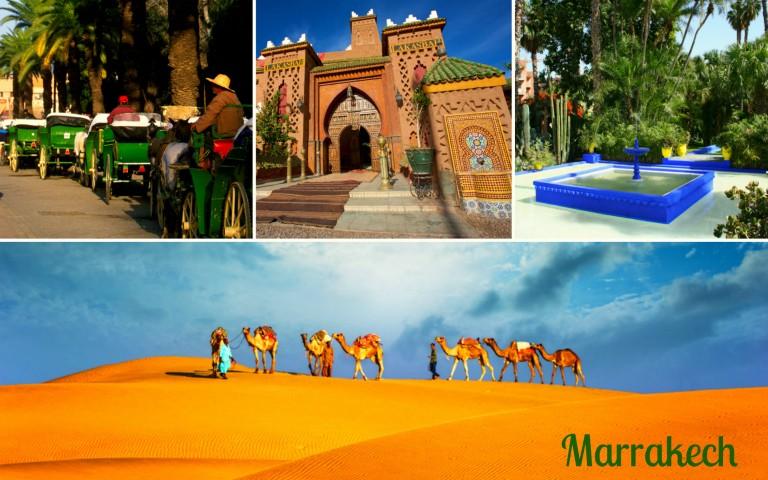 Spennende Marrakech