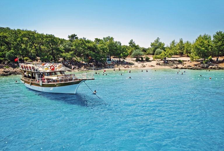 Tyrkiets fantastiske kyst