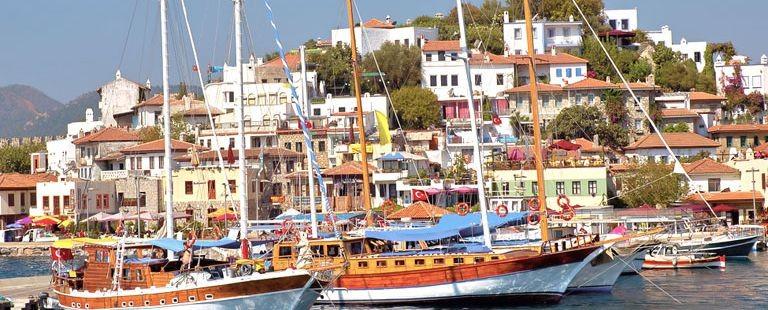 Hamnen i Marmaris