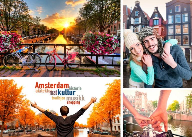 Amsterdam bør besøkes