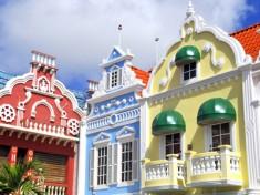 Sjov arkitektur! Holland møder Caribiens farver - Aruba