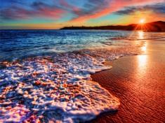 Smukke solnedgange i Aruba