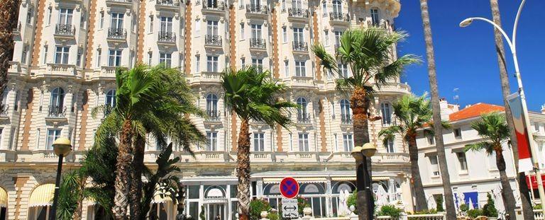 Strandpromenaden i Cannes