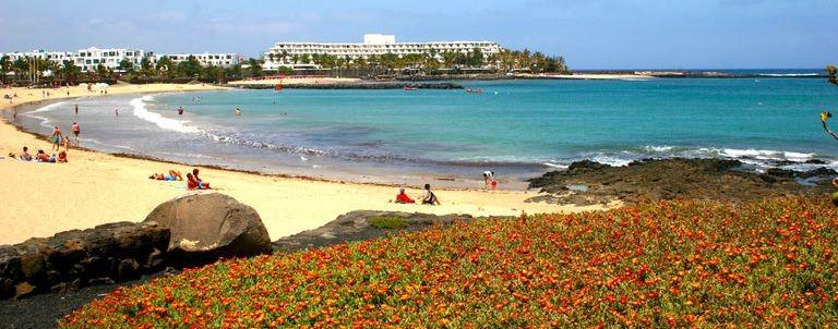 Stranden i Costa Teguise