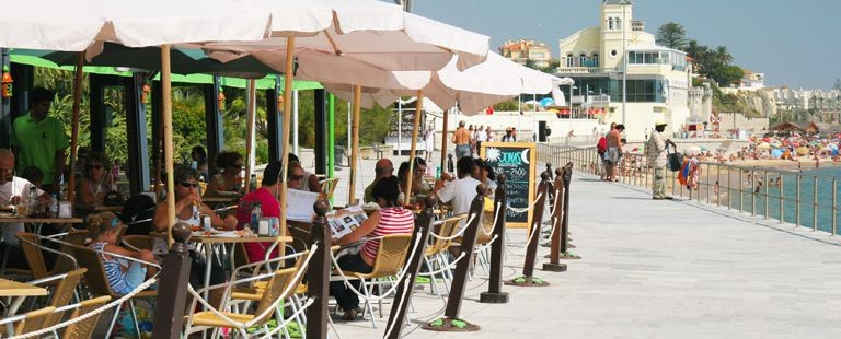 Strandpromenaden i Estoril