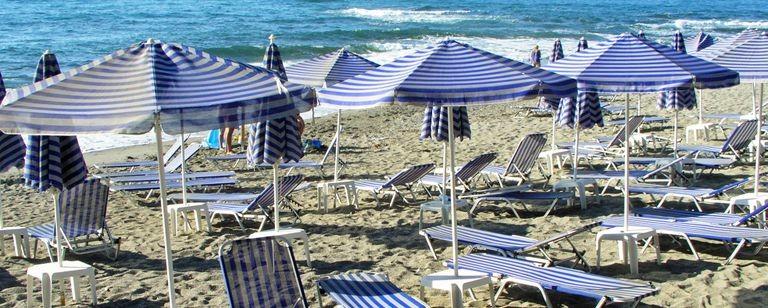 Stranden i Gerani