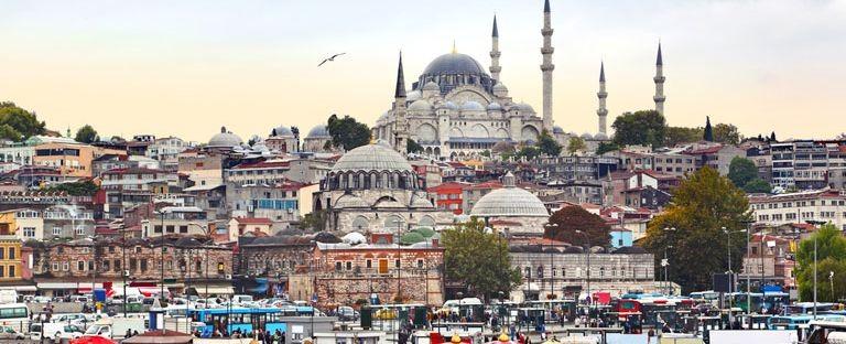 Istanbul från vattensidan