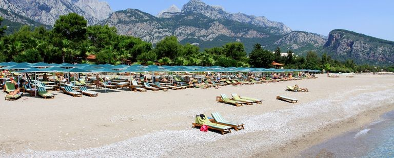 Strand, Kemer Turkiet