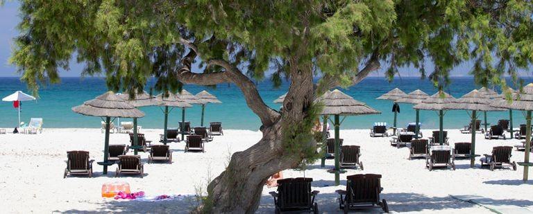 Strand på Kos