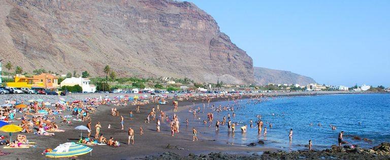 Strand på La Gomera - Teneriffa