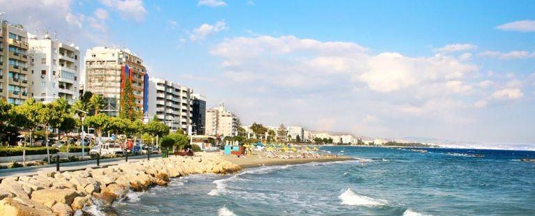 Limassol kustpromenad