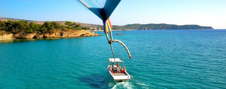 Limenaria parasailing