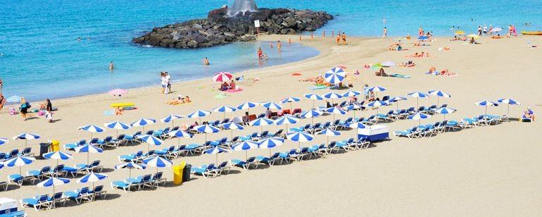 Stranden i Los Cristianos