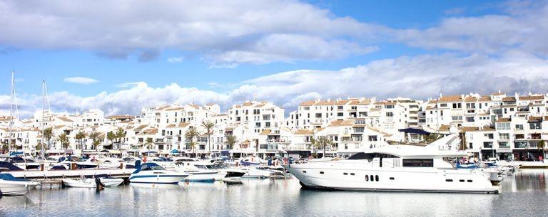 Hamnen i Marbella