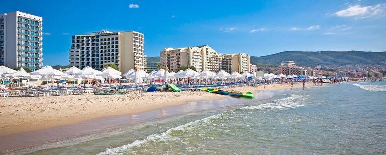 Stranden vid Nessebar