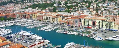 Yachthamn i Nice