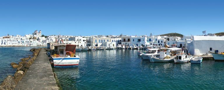 Hamn på Paros
