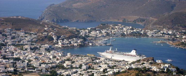 Vy över Patmos