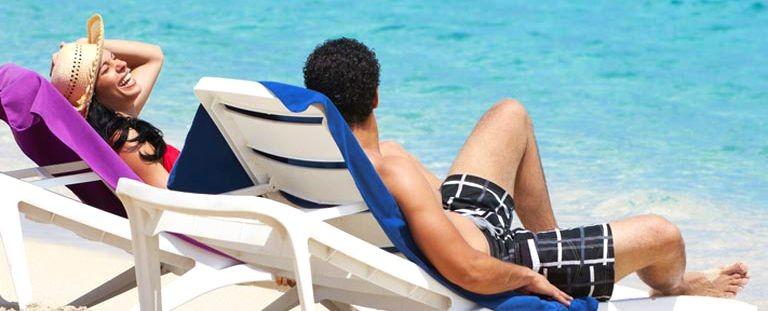 Par på stranden Playa del Cura Gran Canaria