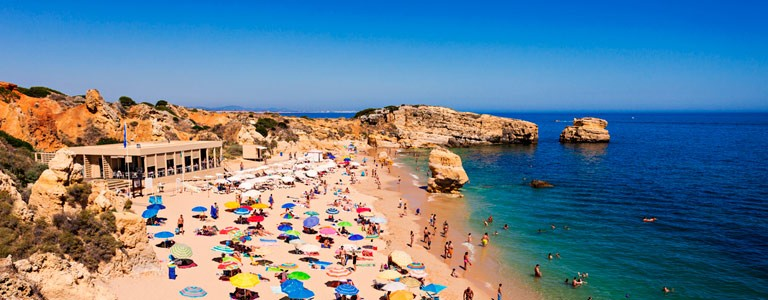 Praia da Falesia Albufeira Algarve Portugal