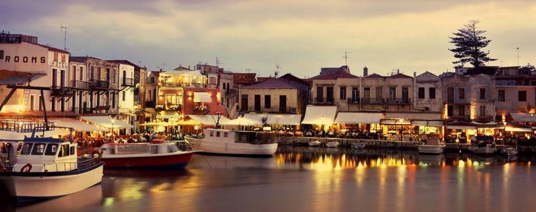 Hamnen i Rethymnon