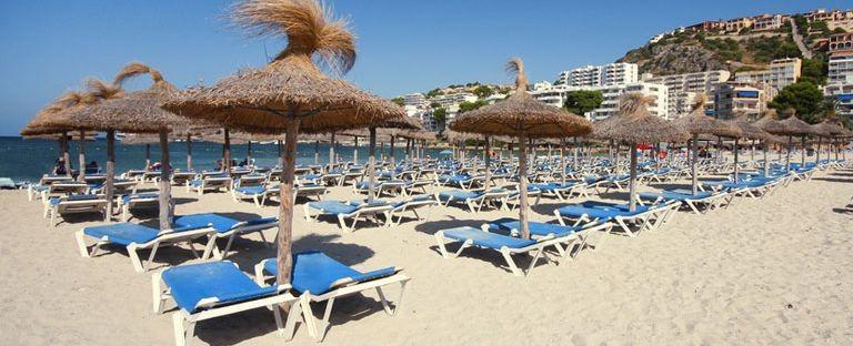 Stranden i Santa Ponsa