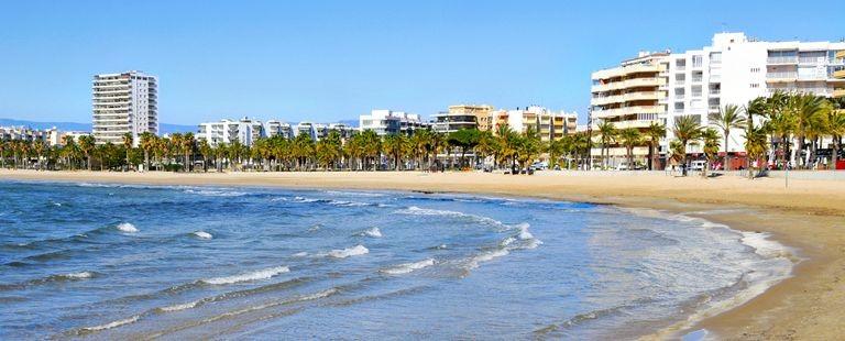 Stranden i Sitges