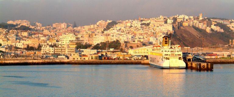 Utsikt över Tanger