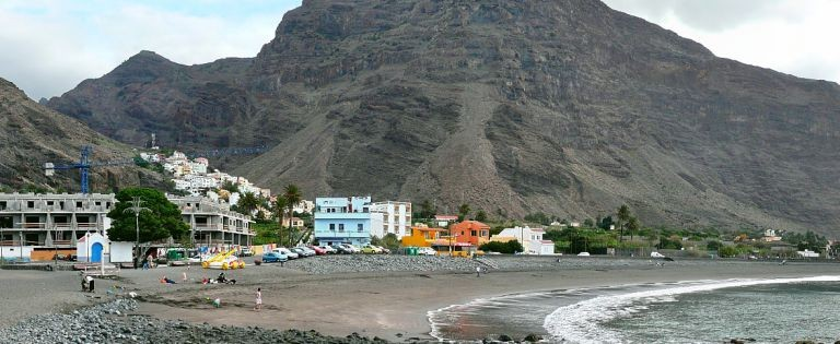 Valle Gran Rey, stranden