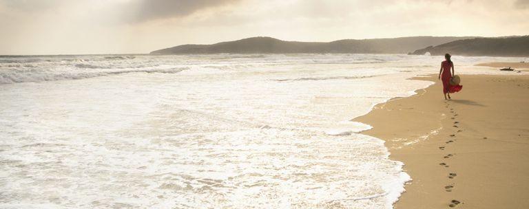 Golden Sands stranden, nära Varna.