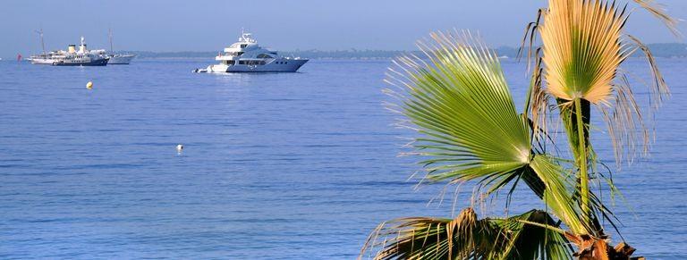 Antibes, utsikt över havet