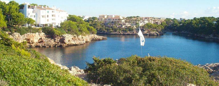 Härlig badvik på Mallorca