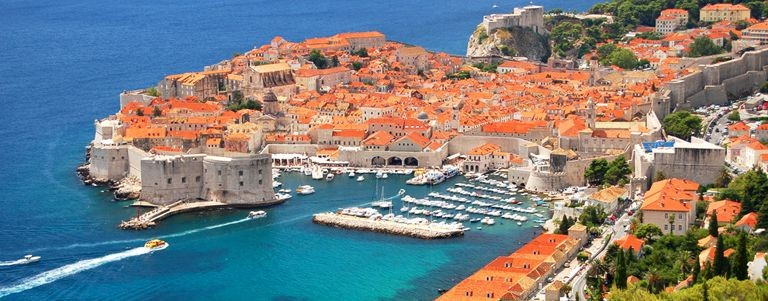 Hamnen i Dubrovnik