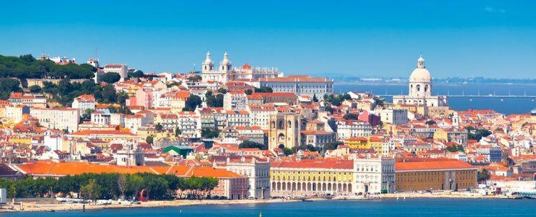 Lissabon från vattnet