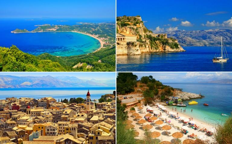 Oppdag spennende Korfu! Bestille pakkereise med Solfaktor