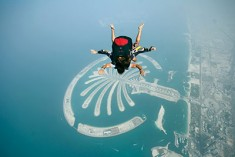 Skydiving i Dubai, Palm Jumeirah