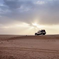 Äventyr i öknen i Dubai