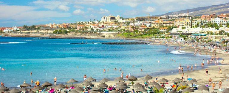 Playa de las Americas stranden