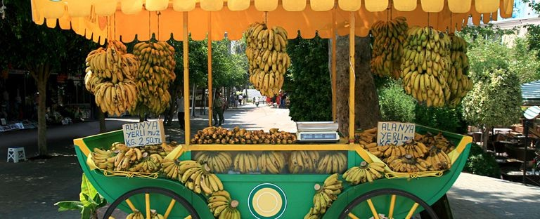 Bananer i Turkiet