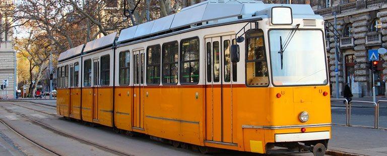 Spårvagn i Budapest
