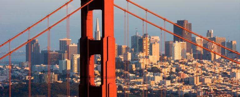 Vy över San Francisco